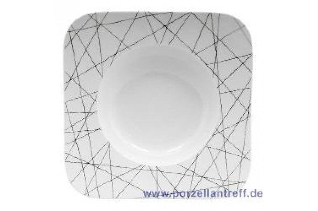 Rosenthal Studio-line Free Spirit Stars Soup Plate Quad. 23 cm Teller
