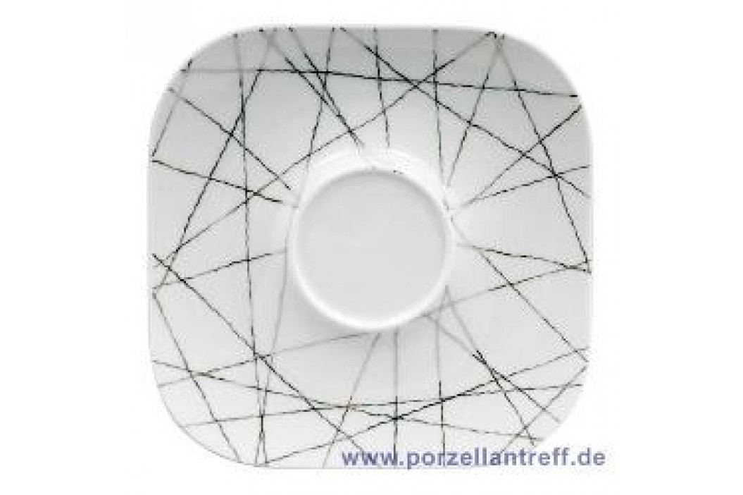 Rosenthal Studio-line Free Spirit Stars Combined Saucer Quad. 15 cm Service & Geschirrsets