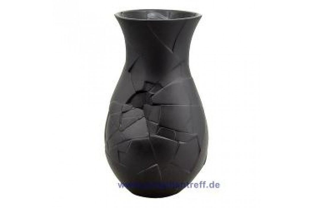 Rosenthal Vase of Phases Vase Small in a Gift Box 21 cm, black Service & Geschirrsets