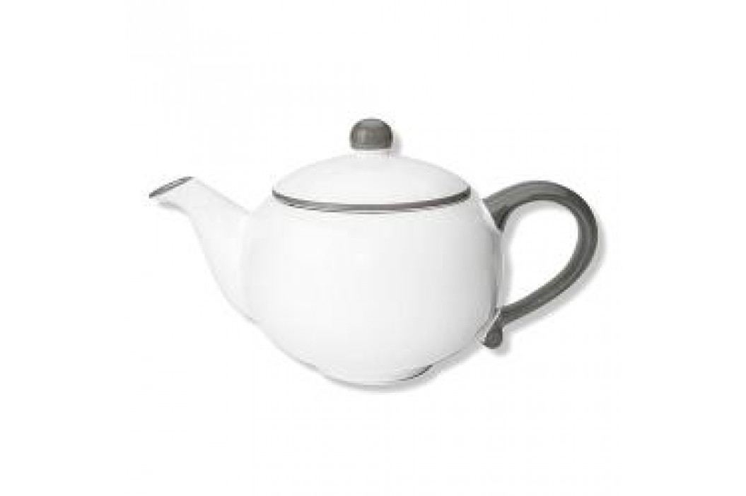Gmundner Keramik Grauer Rand Teapot 1.0 L Service & Geschirrsets