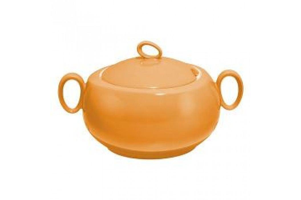 Seltmann Weiden Trio Orange Bowl with Lid 2.8 L Schalen & Schüsseln