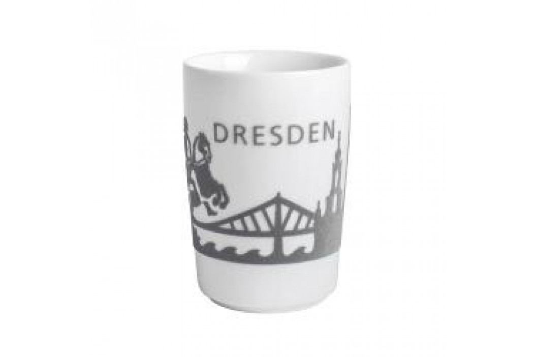 Kahla Five Senses touch Skyline Mug large 'Dresden', colour: grey, 0.35 L Service & Geschirrsets