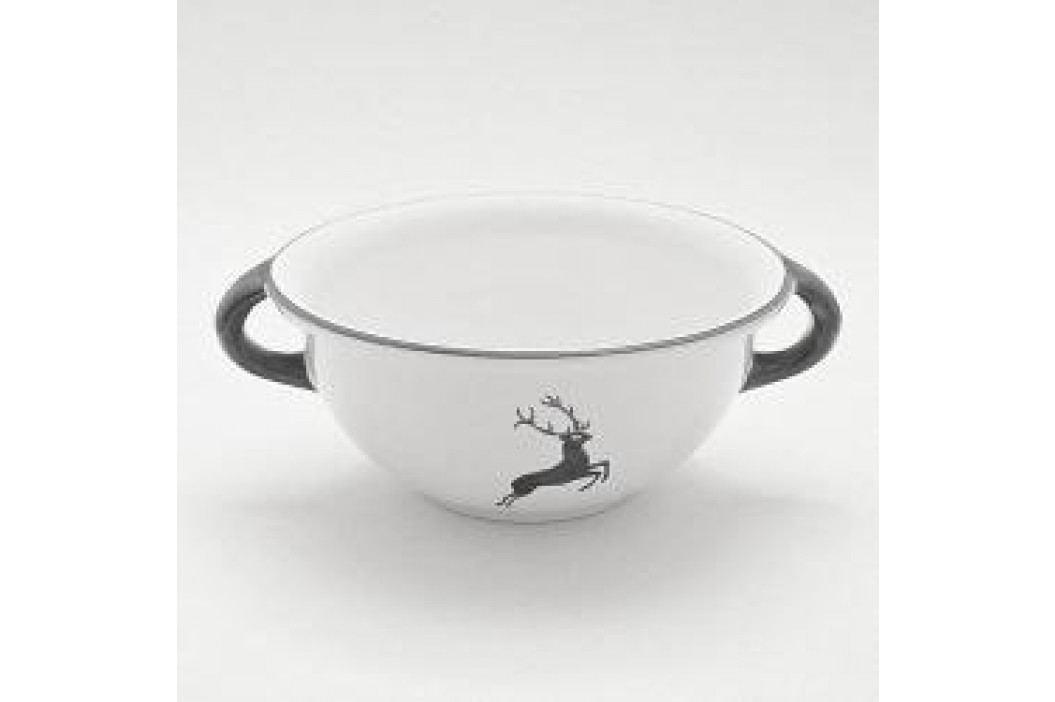 Gmundner Ceramics Grey Deer Bowl Weitling 25 cm Schalen & Schüsseln