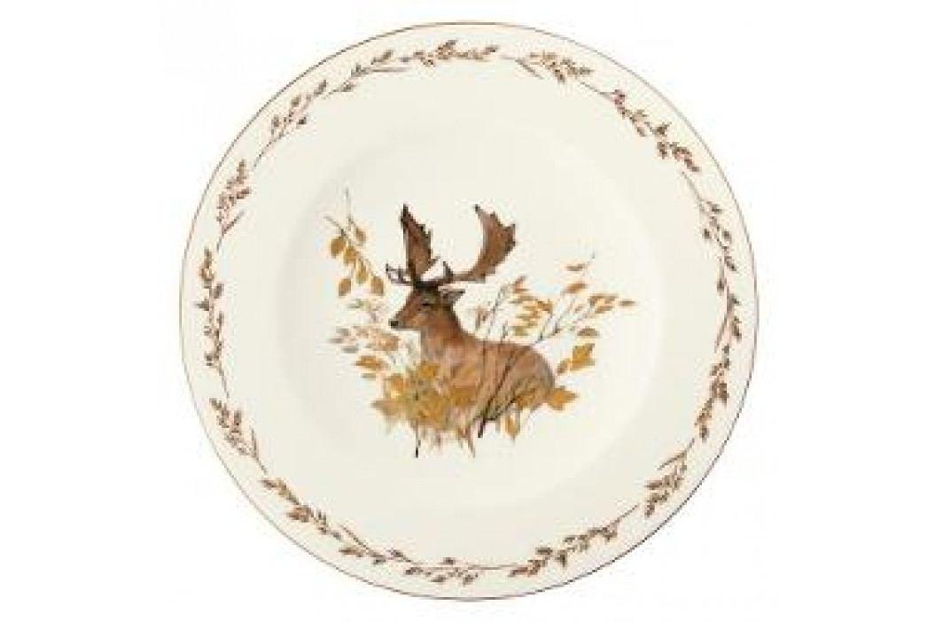 Königlich Tettau Achat Diamant - Jagd Dining plate 'Damhirsch', 28 cm Teller