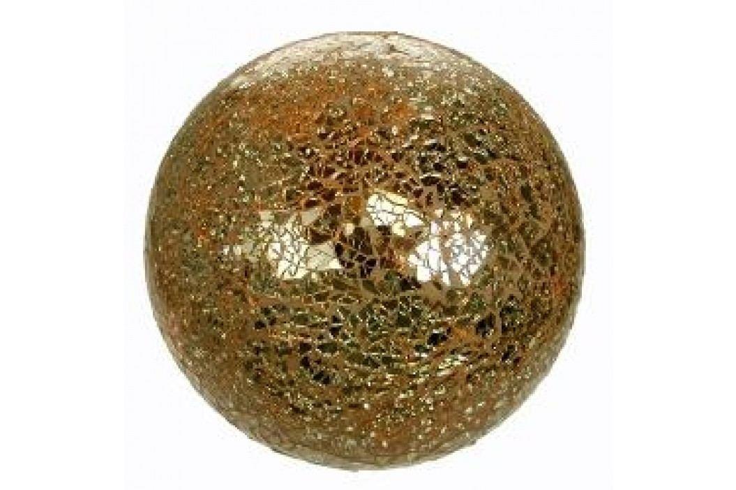 Formano Lamps Illuminated Glass Deco Ball yellow-gold 35 cm Service & Geschirrsets