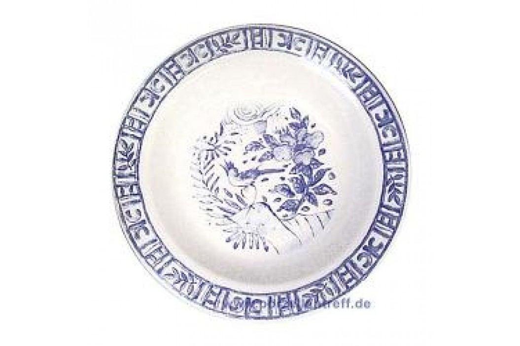 Gien Oiseau Bleu monochrome Round Platter Deep 31 cm Service & Geschirrsets