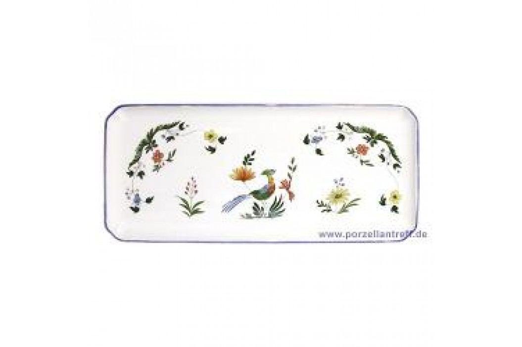 Gien Oiseaux Paradis King Cake Plate 38 x 14.5 cm Teller