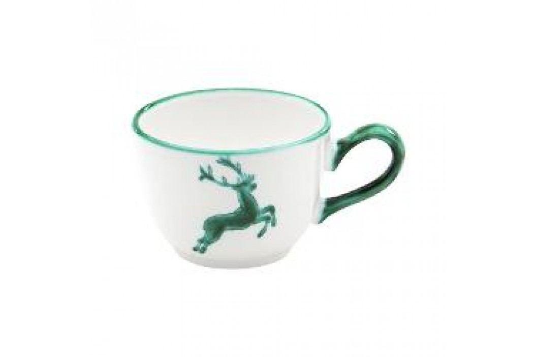 Gmundner Ceramics Green Deer Coffee Cup Smooth 0.19 l Tassen & Becher