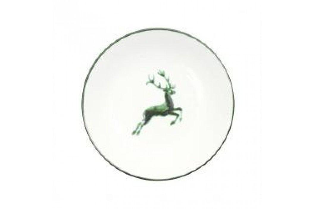 Gmundner Ceramics Green Deer Soup Plate Cup 20 cm Teller