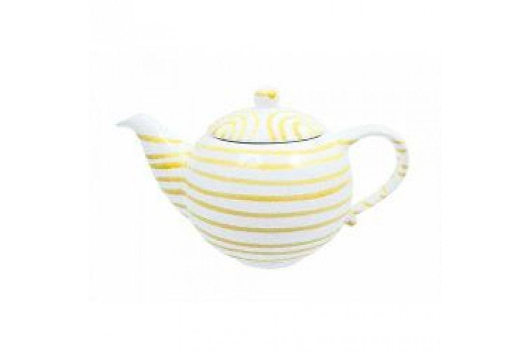 Gmundner Keramik Gelbgeflammt Tea pot 1.5 l Teekannen