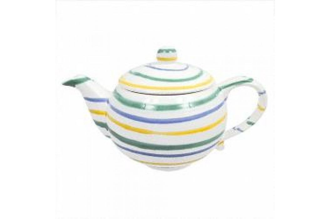 Gmundner Keramik Buntgeflammt Tea pot 1.5 l Teekannen