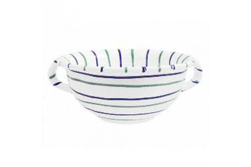 Gmundner Ceramics Traunsee Bowl with Handle 25 cm Schalen & Schüsseln