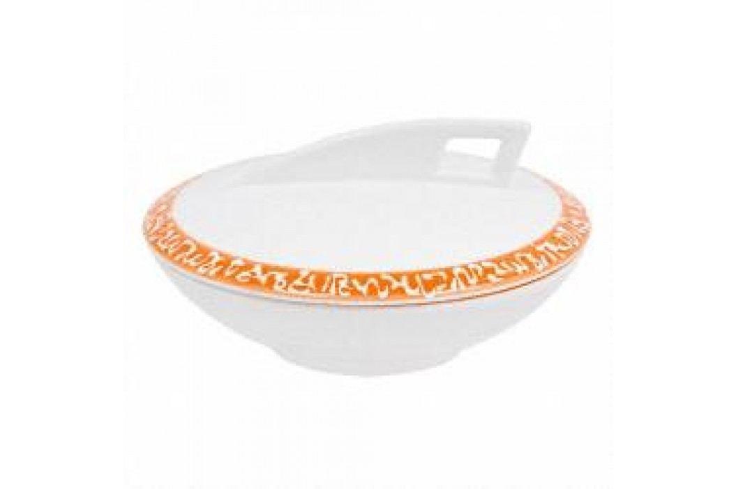 Gmundner Keramik Selektion Orange Sugar bowl 14 cm Schalen & Schüsseln