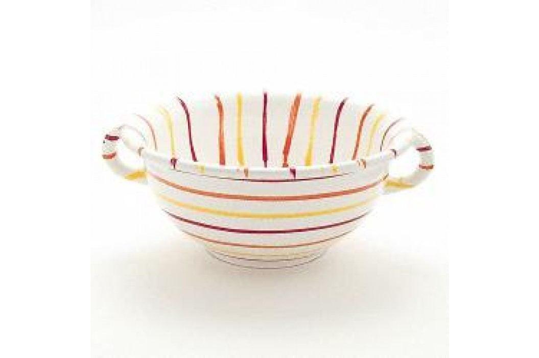 Gmundner Ceramics Landlust Mixing Bowl with Handles 25 cm Schalen & Schüsseln