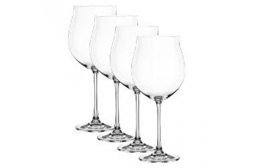 Nachtmann Vivendi Premium - Lead Crystal Burgundy goblet glass set of 4 pcs 897 ml Service & Geschirrsets