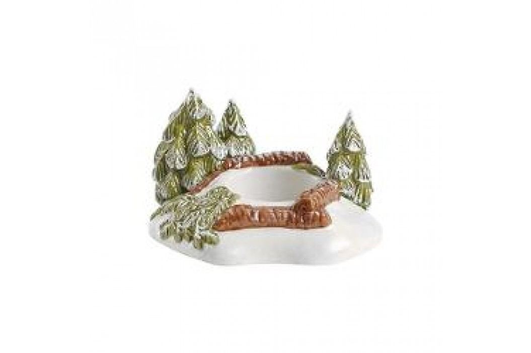 Villeroy & Boch Mini Christmas Village Decorative figurine 'Forest' - with tealight holder 14x10x5.5 cm Service & Geschirrsets