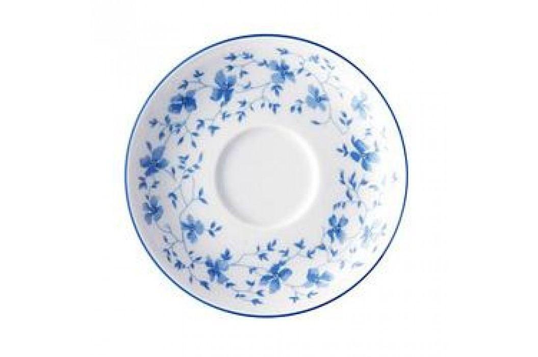 Arzberg Form 1382 Blue Blossoms (Blaublüten) Mocha / Espresso Saucer 12 cm Service & Geschirrsets