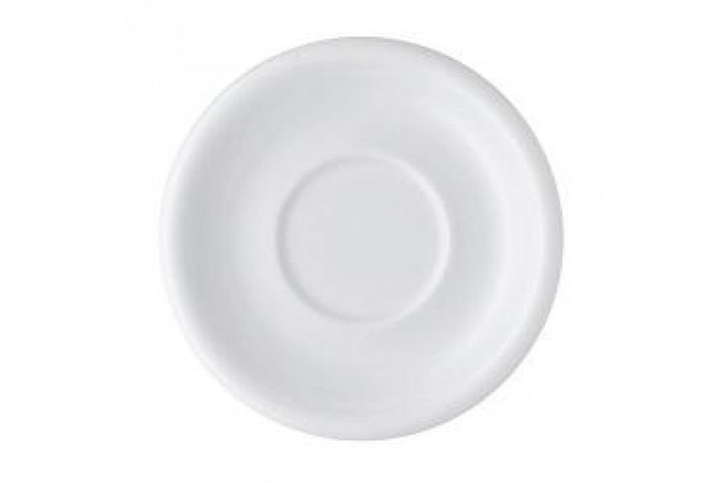 Arzberg Daily White Saucer for Café Au Lait, Soup 17 cm Service & Geschirrsets
