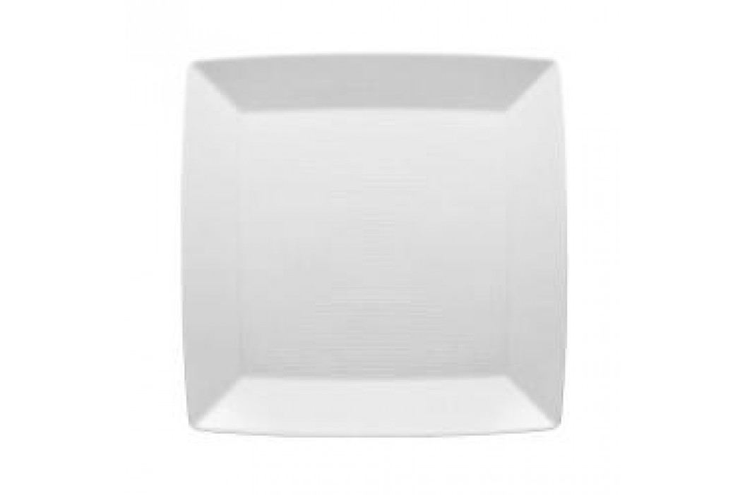 Thomas Loft White Platter / Plate Quadratic 22 cm Teller