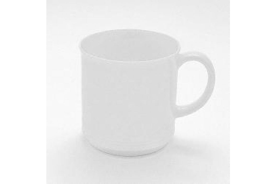 Friesland Jeverland White Mug with Handle, Stackable 0.25 L Service & Geschirrsets
