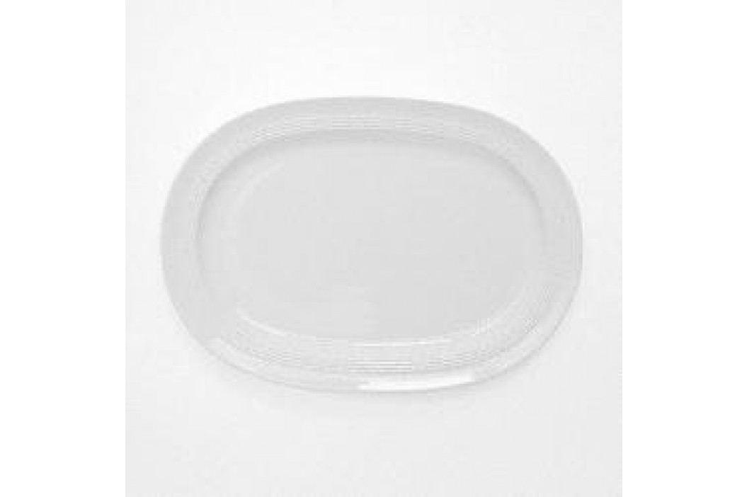 Friesland Jeverland White Platter 4, Oval 32 cm Service & Geschirrsets