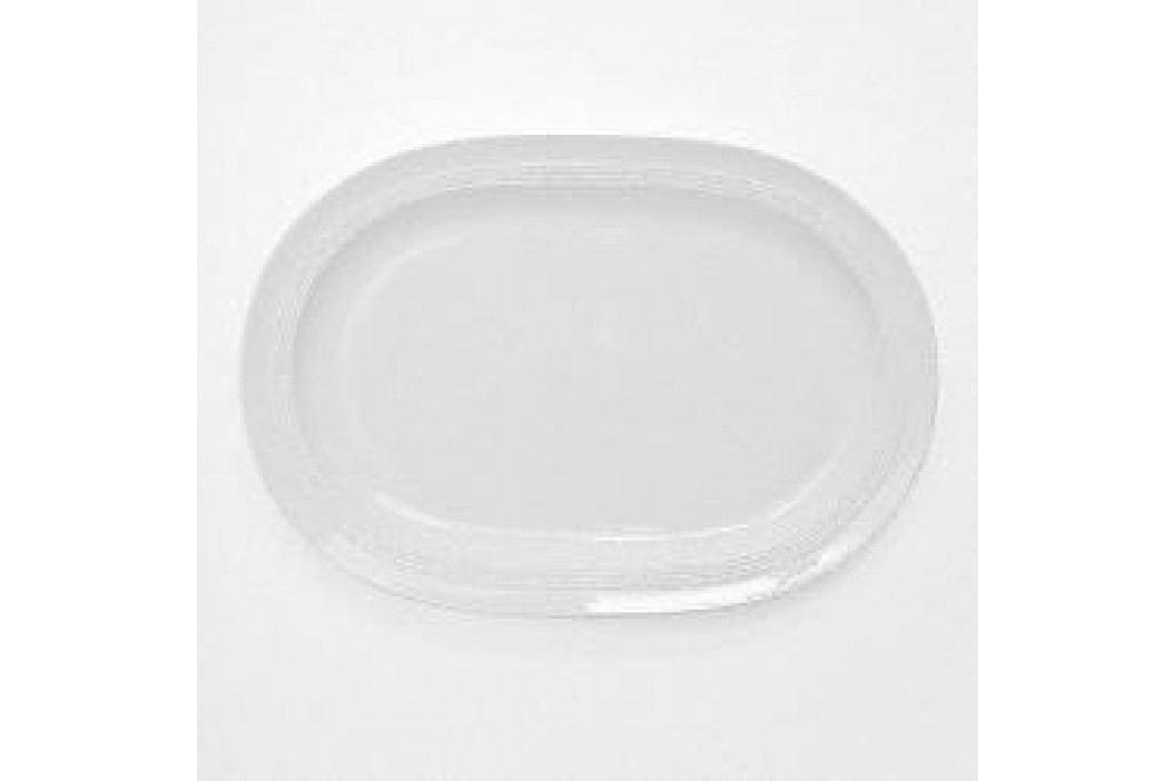 Friesland Jeverland White Platter 5, Oval 36 cm Service & Geschirrsets