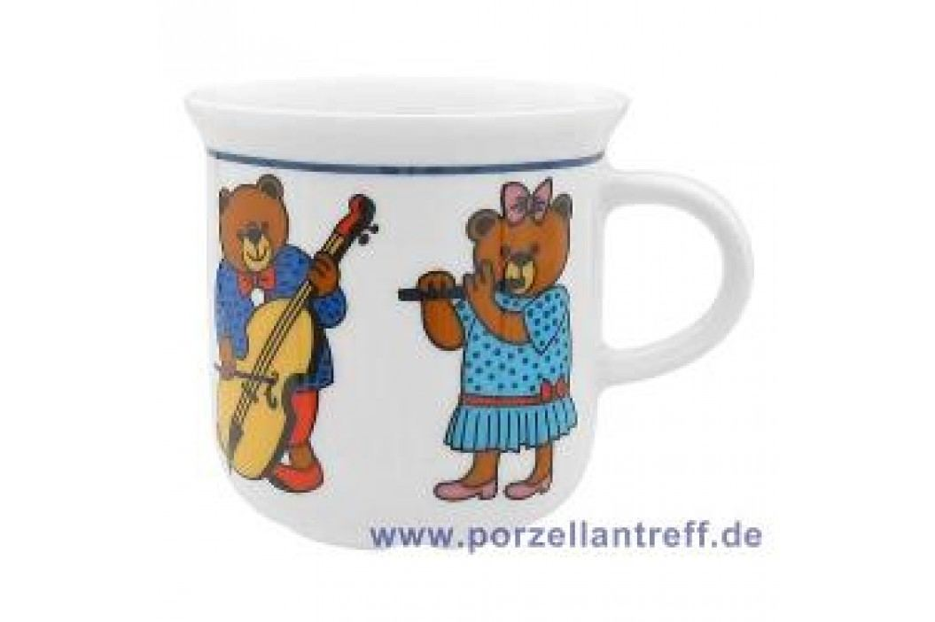 Arzberg Bear Orchestra Mug with Handle 0.28 L Service & Geschirrsets