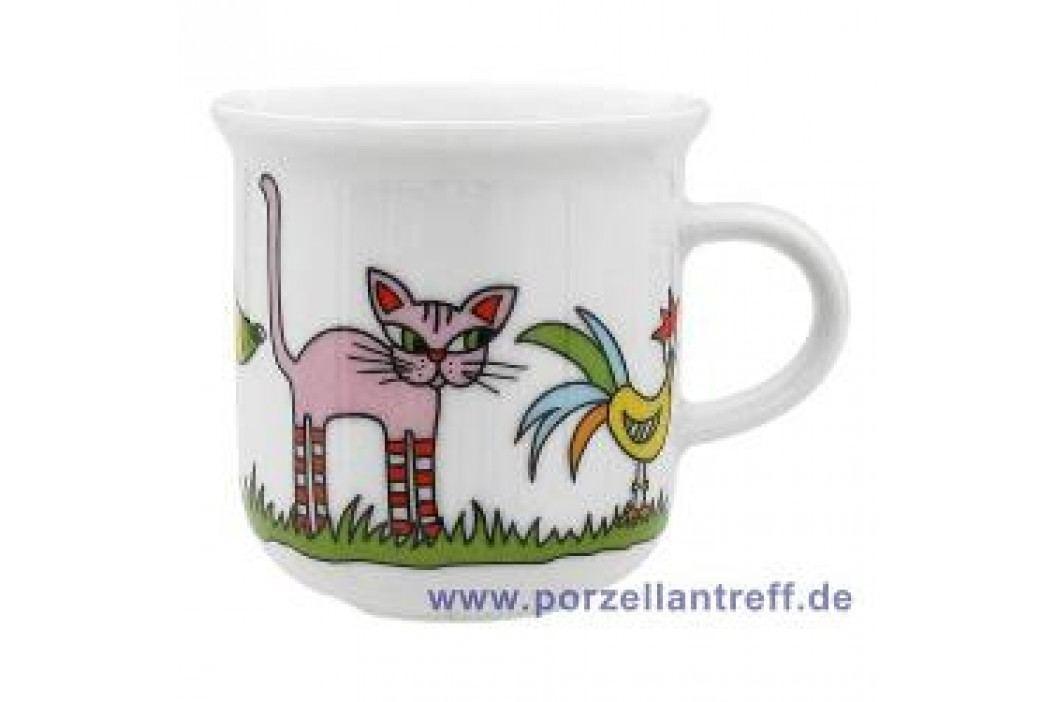 Arzberg Bremen Town Musicians Mug with Handle 0.28 L Service & Geschirrsets
