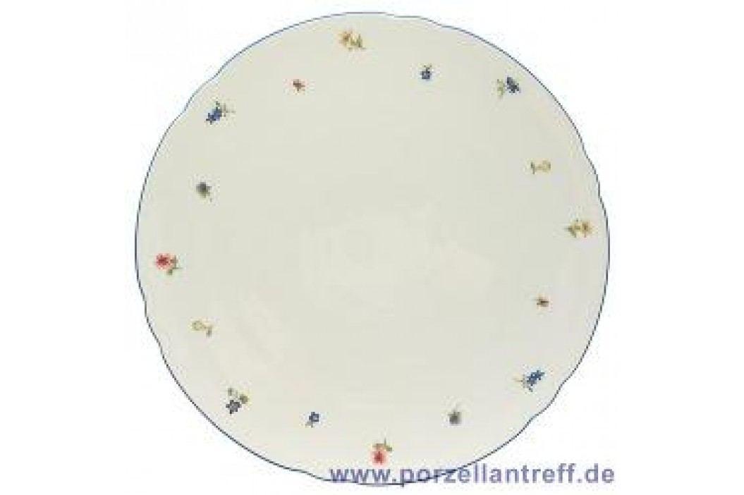 Seltmann Weiden Marie-Luise Scattered Blooms Cake Platter 30 cm Service & Geschirrsets