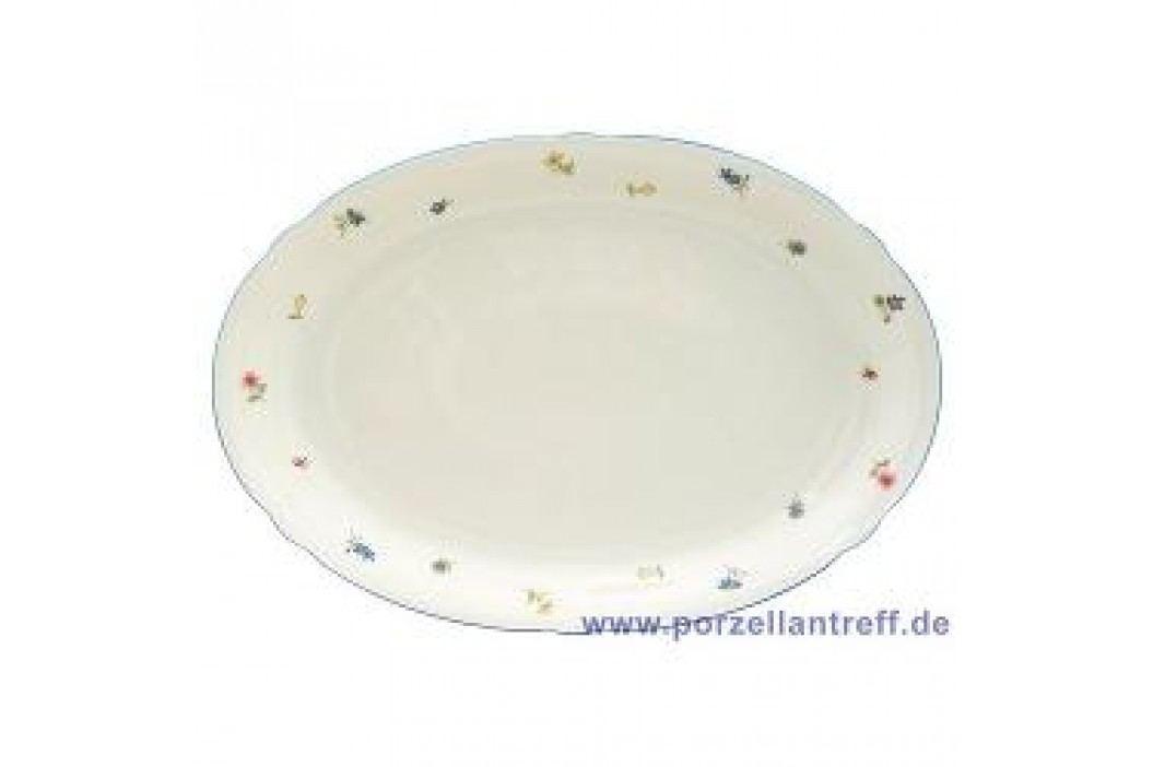 Seltmann Weiden Marie-Luise Scattered Blooms Oval Platter 35 cm Service & Geschirrsets