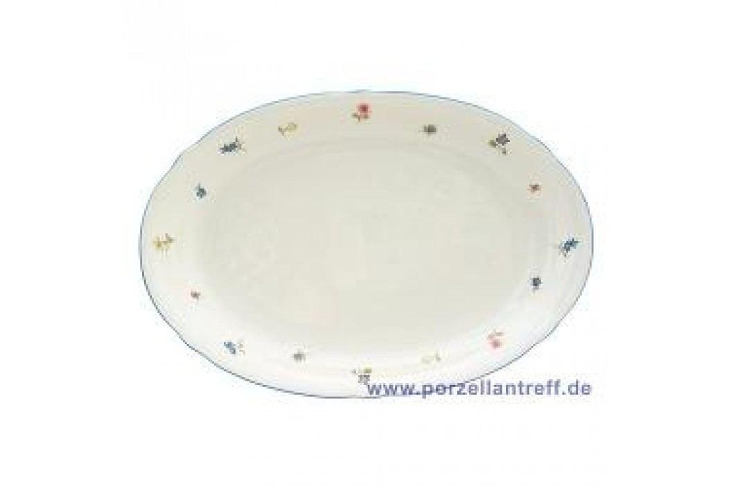 Seltmann Weiden Marie-Luise Scattered Blooms Oval Platter 31 cm Service & Geschirrsets