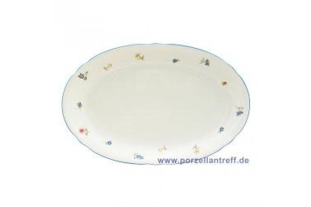 Seltmann Weiden Marie-Luise Scattered Blooms Oval Platter 28 cm Service & Geschirrsets