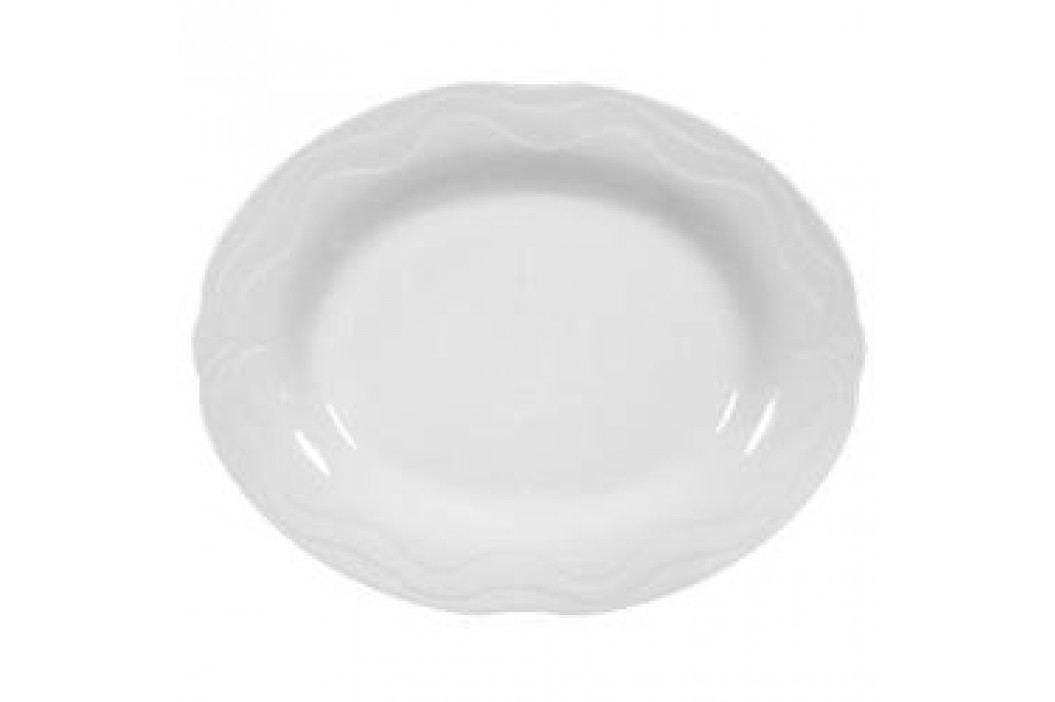 Tettau Plaza White Oval Platter 35 cm Service & Geschirrsets