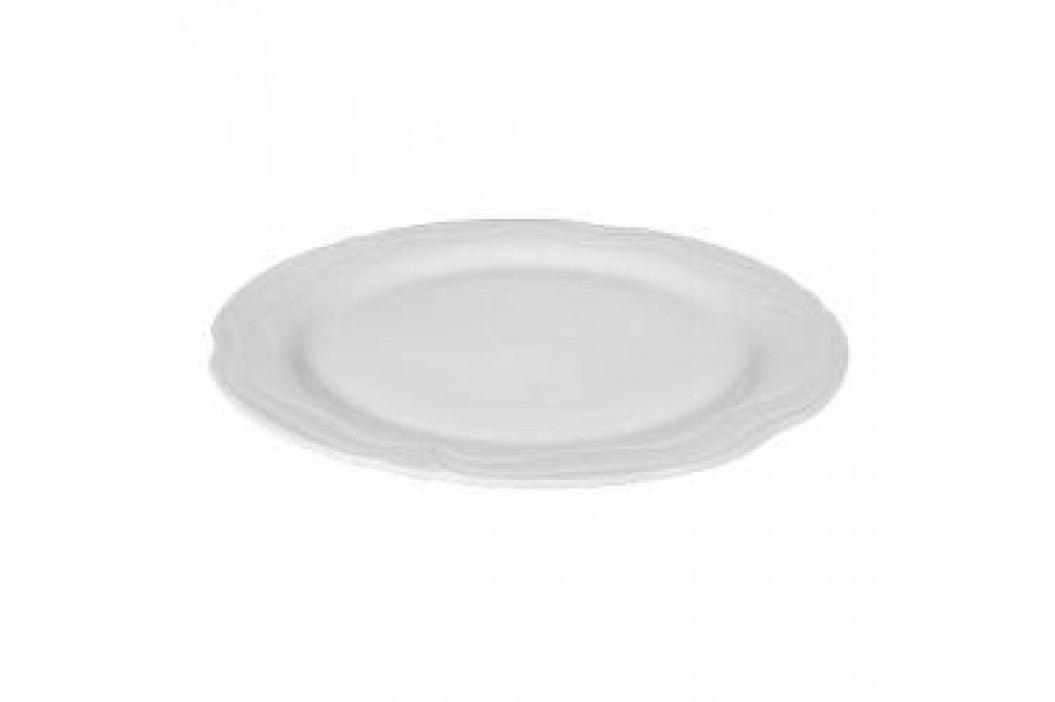 Tettau Plaza White Round Flat Platter 30 cm Service & Geschirrsets