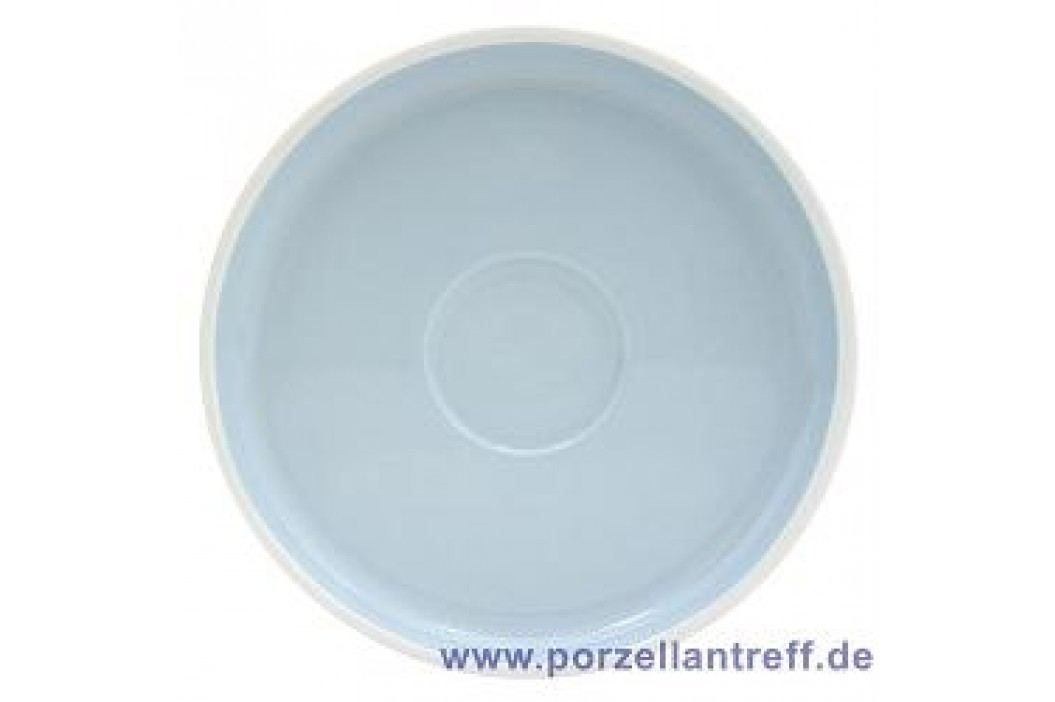Arzberg Profi Scandinavian light sky Saucer For Café Au Lait, Mug With Handle 18 cm Service & Geschirrsets