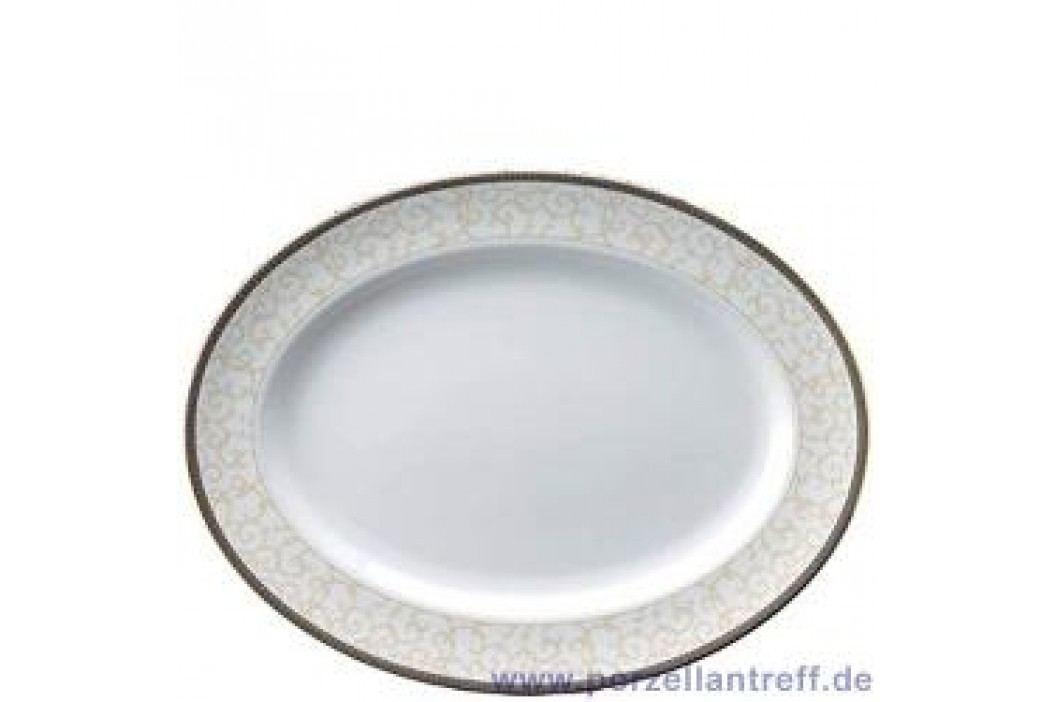 Wedgwood Celestial Gold Oval Platter 39 cm Service & Geschirrsets