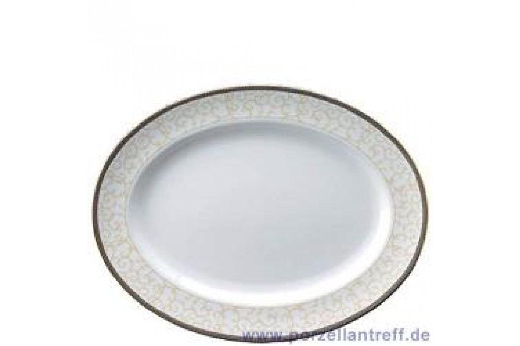 Wedgwood Celestial Gold Oval Platter 35 cm Service & Geschirrsets