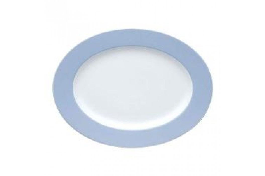 Thomas Sunny Day Pastel Blue Oval Platter 33 cm Service & Geschirrsets