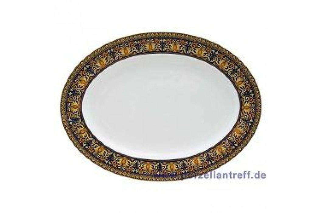 Rosenthal Versace Medusa blue Oval Platter 34 cm Service & Geschirrsets