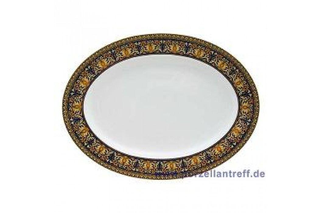 Rosenthal Versace Medusa blue Oval Platter 40 cm Service & Geschirrsets