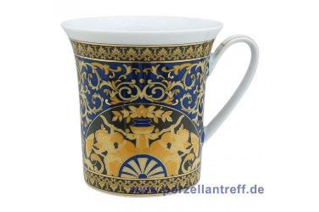 Rosenthal Versace Medusa blue Gourmet Mug with Handle 0.35 L Service & Geschirrsets