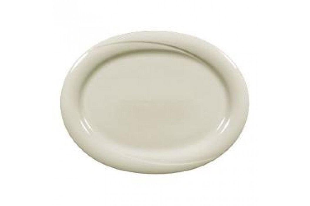 Seltmann Weiden Orlando fine cream Uni Oval Platter 35 cm Service & Geschirrsets