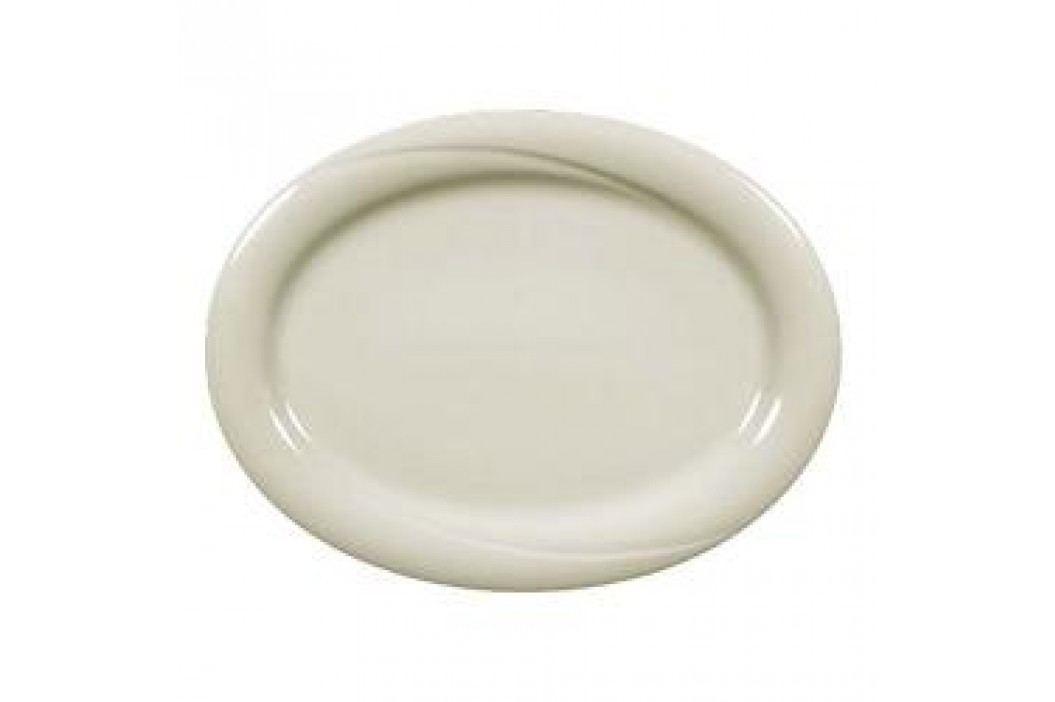 Seltmann Weiden Orlando fine cream Uni Oval Platter 31 cm Service & Geschirrsets