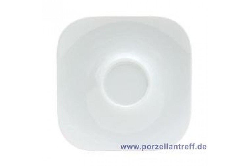Rosenthal Studio-line Free Spirit White Espresso Saucer Quadratic 10.5 cm Service & Geschirrsets