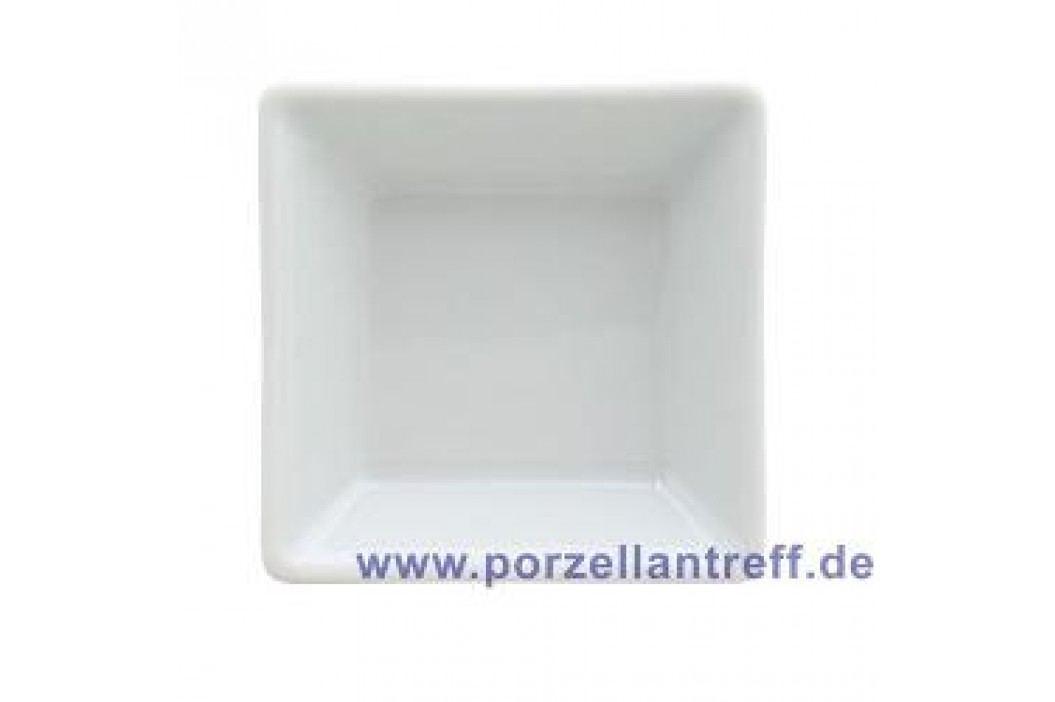 Arzberg Tric White Platter Quadratic 7 x 7 cm Service & Geschirrsets