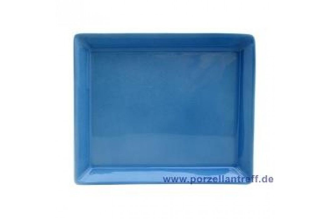 Arzberg Tric Blue Platter Rectangular 12 x 15 cm Service & Geschirrsets