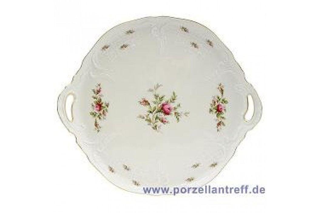 Rosenthal Classic Sanssouci Ivory Moosrose new Cake Platter 32 cm Service & Geschirrsets