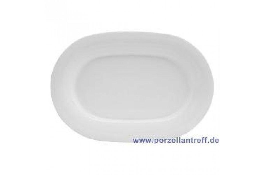Tettau Jade White Oval Platter 32 cm Service & Geschirrsets