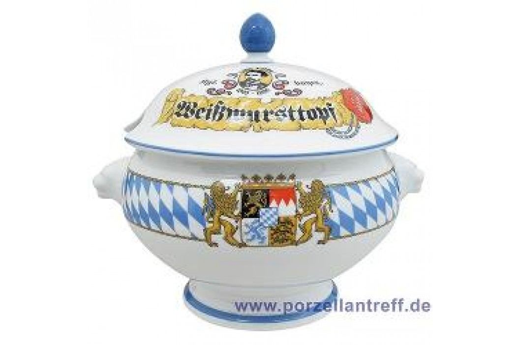 Seltmann Weiden Compact Bavaria Lion Head Tureen with Lid 3.0 L Service & Geschirrsets