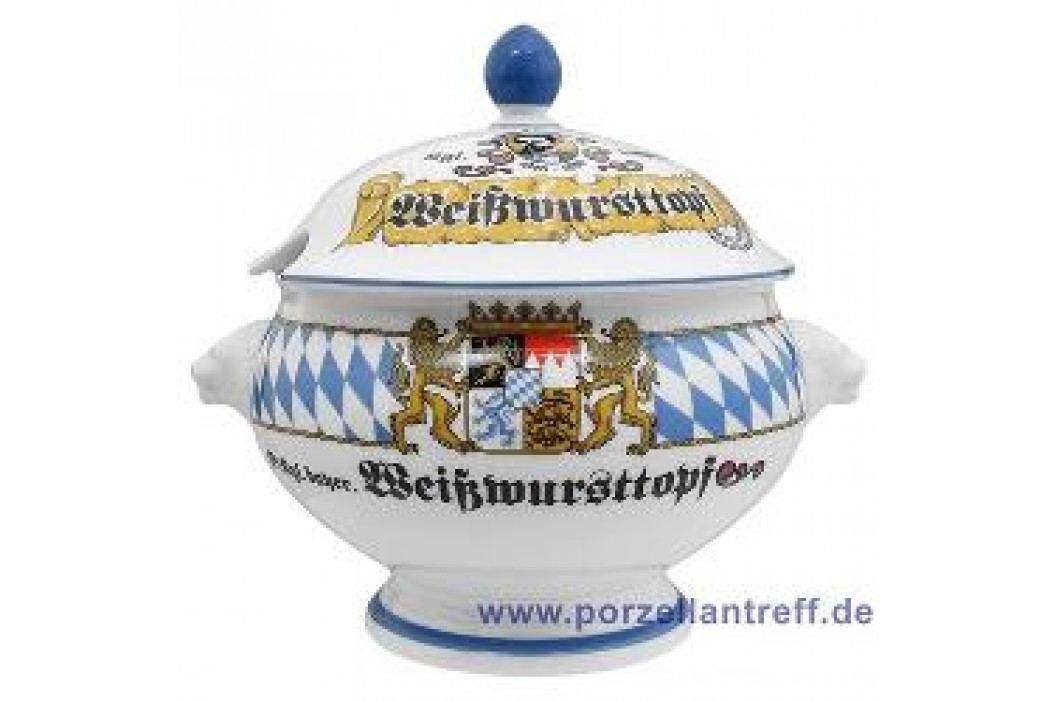 Seltmann Weiden Compact Bavaria Lion Head Tureen with Lid 2.0 L Service & Geschirrsets